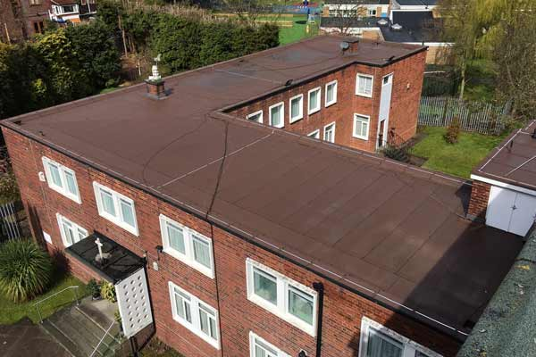 Single-ply-roofing-school-roof-renewal-Manchester