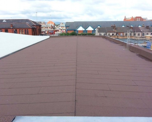 Felt-roof-renewal-Manchester-Built-Up-Felt-Roofing-Contractor
