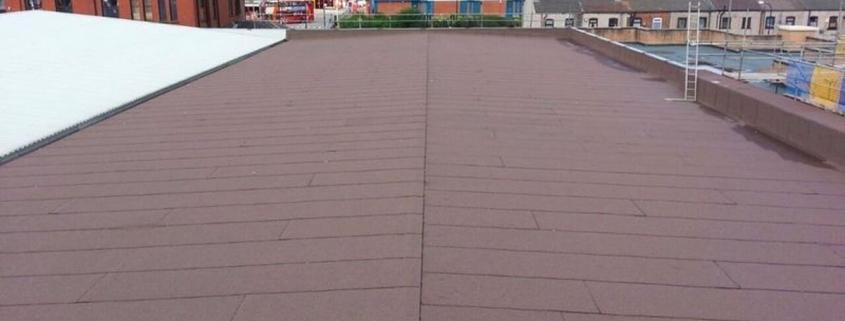 Felt-roof-renewal-Manchester-Built-Up-Felt-Roofing-Contractor